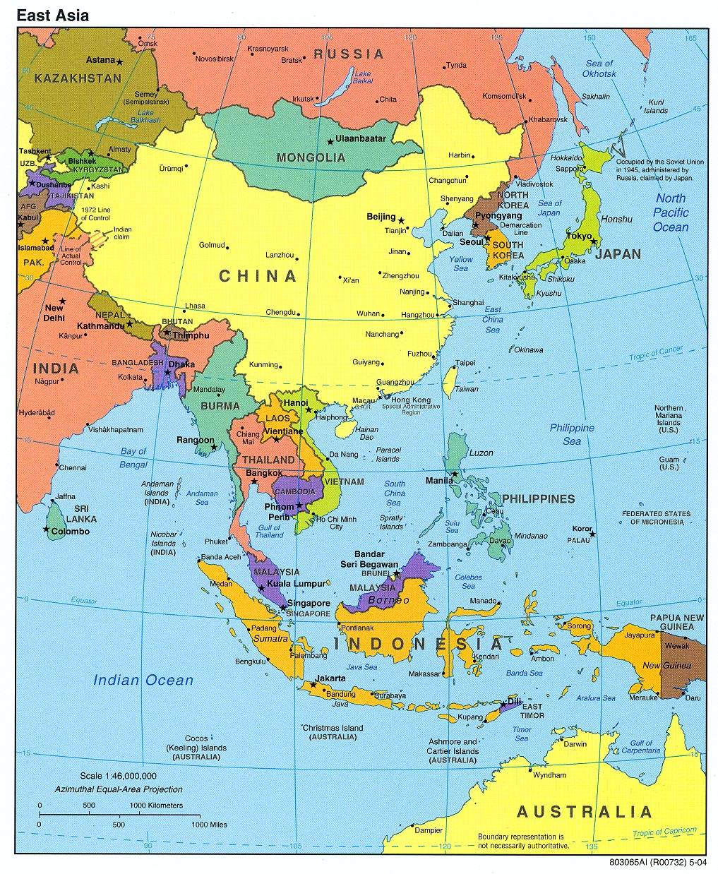 Map Of Asia Cities.Maps Of Asia And Asia Countries Political Maps Administrative And