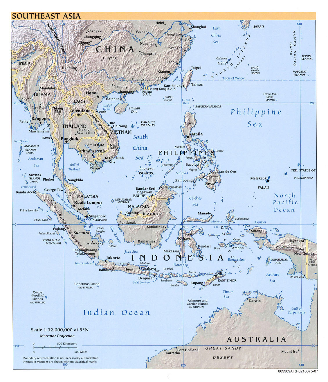 Map Of Monsoon Asia Countries.Maps Of Asia And Asia Countries Political Maps Administrative And