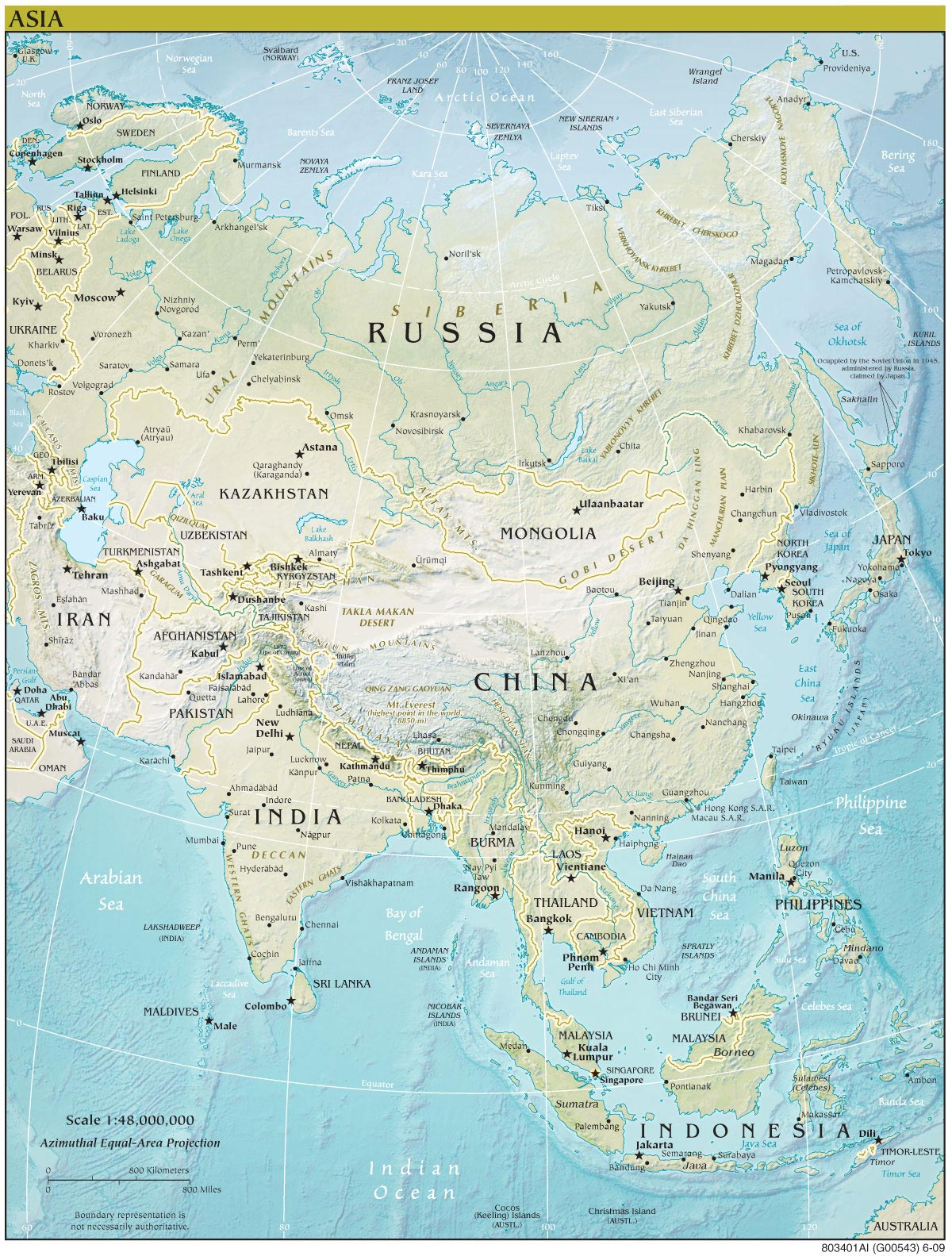 Detailed Map Of Asia.Map Of Asia Continent 50 Best Templates