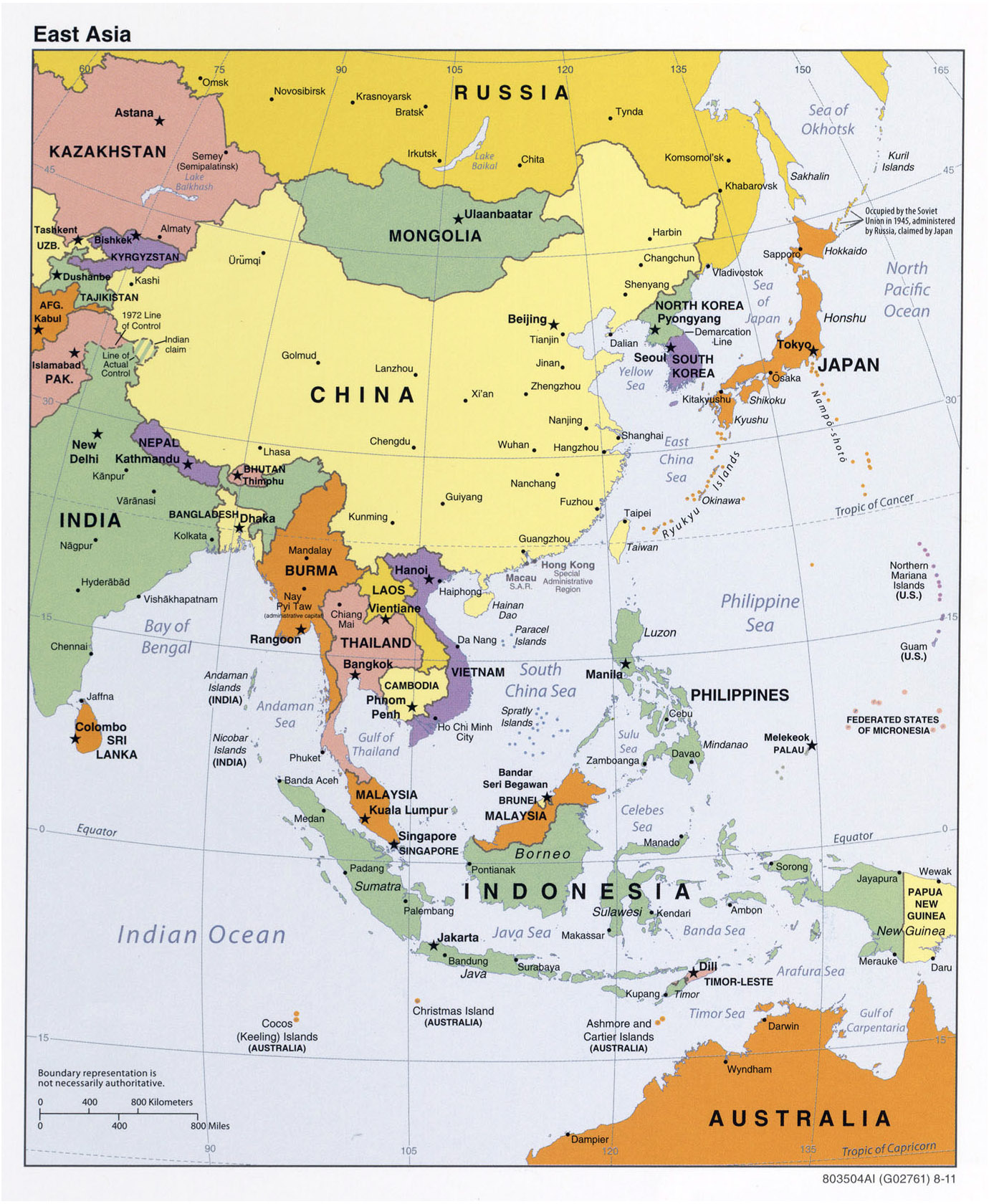 Large Map Of Asia.Maps Of Asia And Asia Countries Political Maps