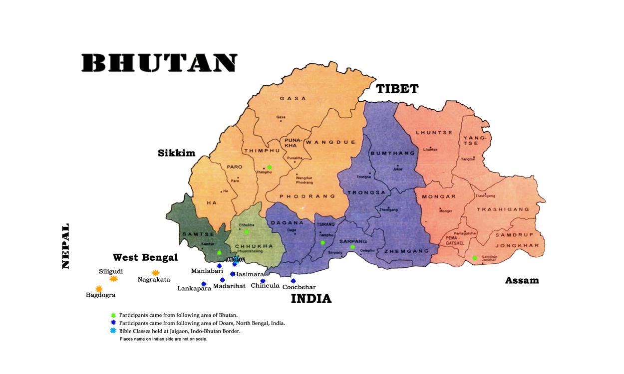 Maps of Bhutan Detailed map of Bhutan in English Tourist map of