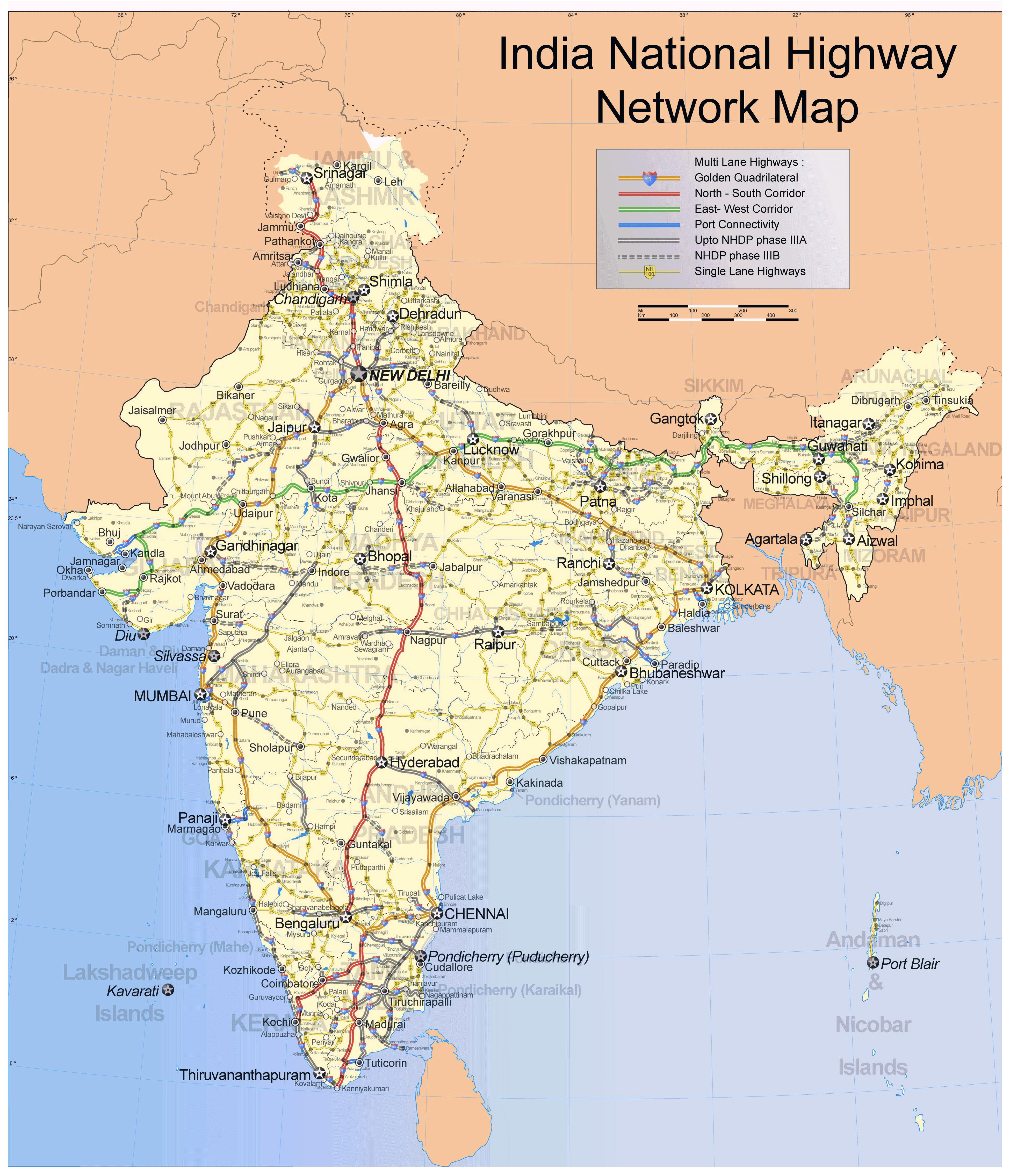 latest map of india pdf