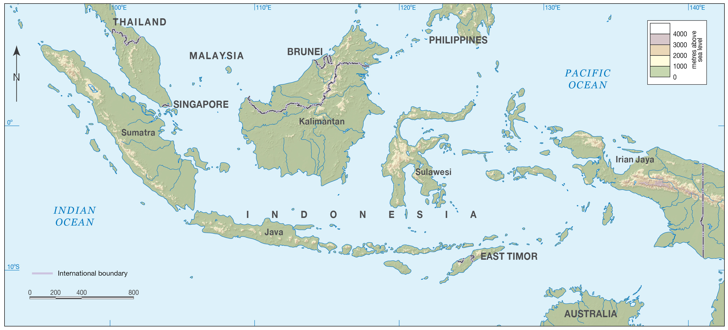 Maps of Indonesia | Detailed map of Indonesia in English ...