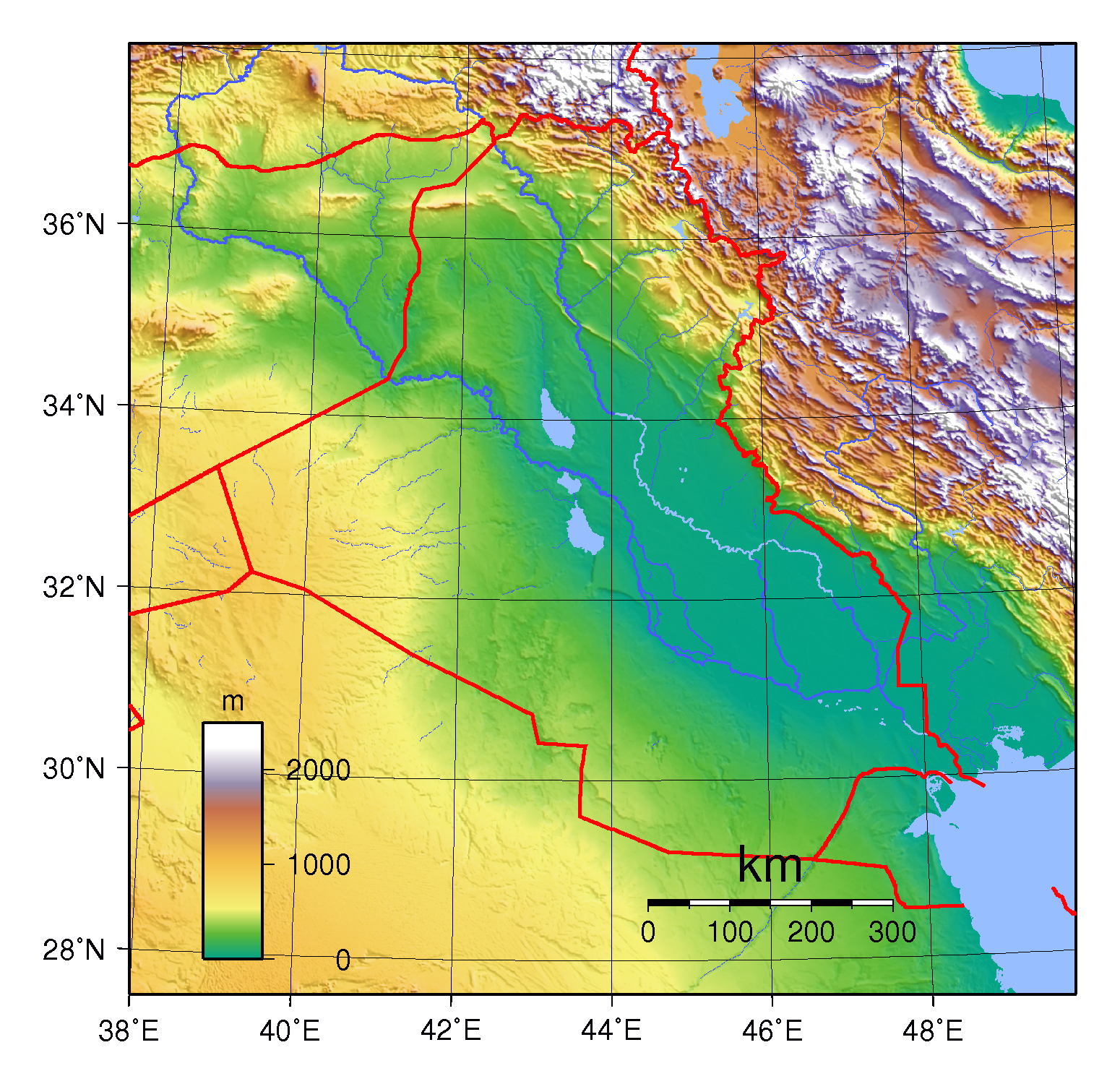 Maps Of Iraq Detailed Map Of Iraq In English Tourist Map Of - Map of iraq