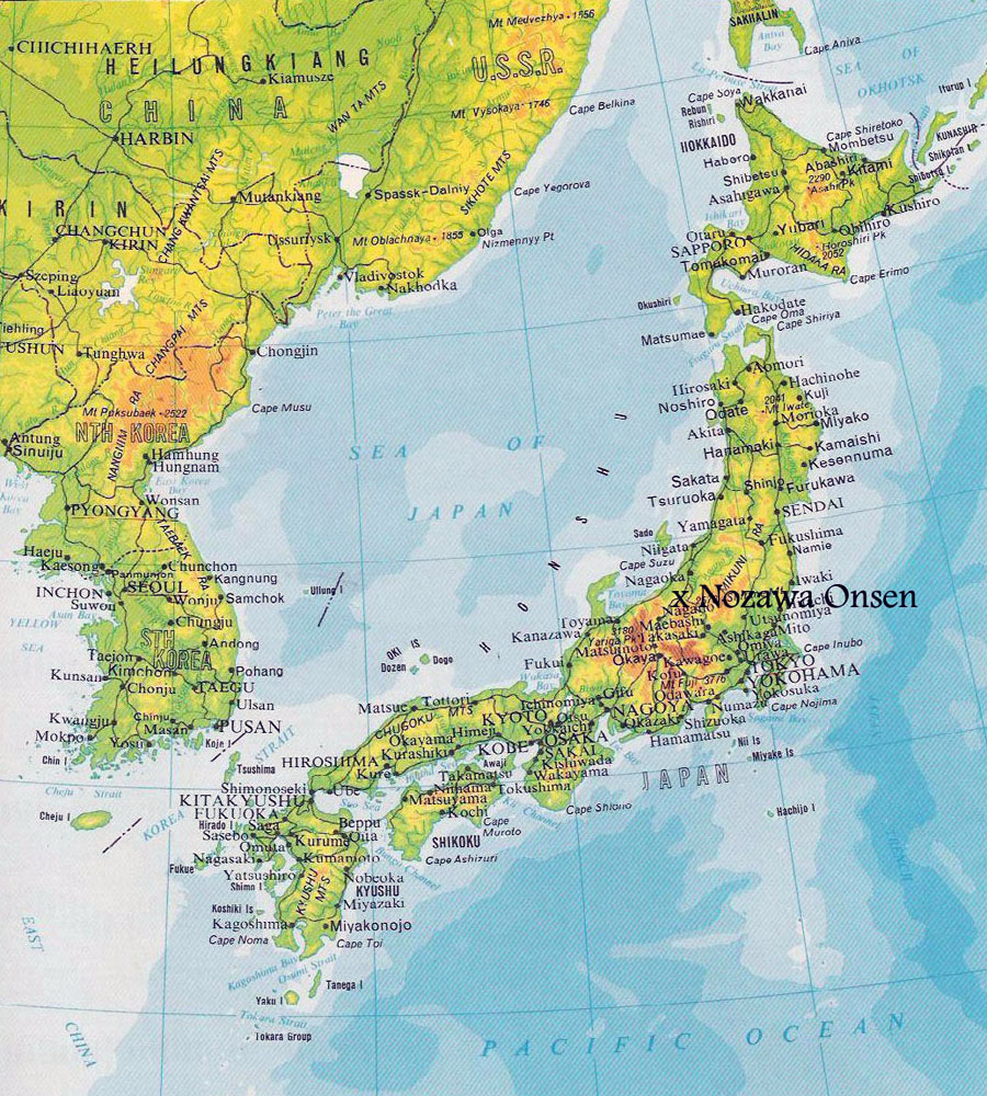 Maps Of Japan Detailed Map Of Japan In English Tourist Map Of - Map japan