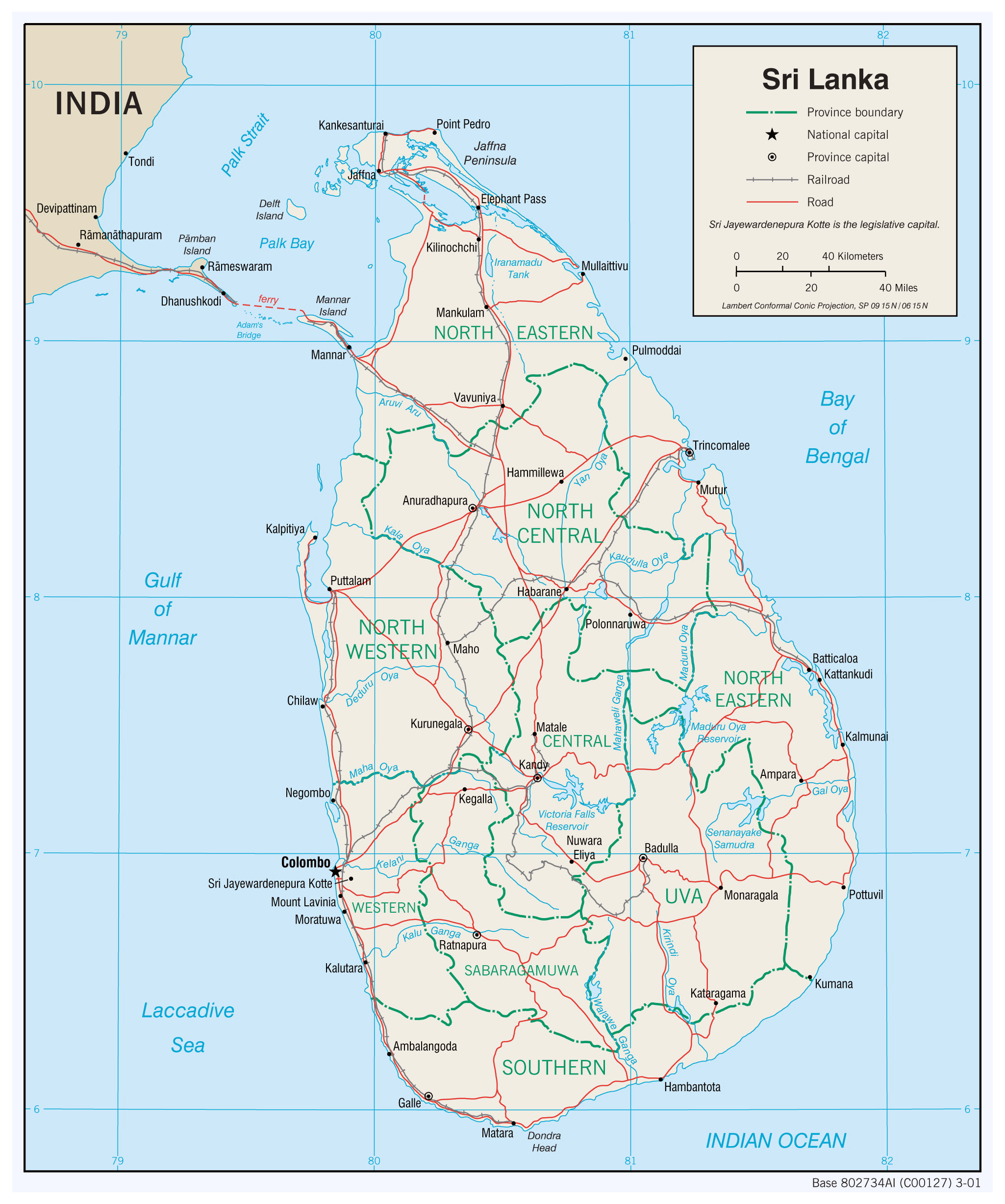 Sri Lanka Political Map.Maps Of Sri Lanka Detailed Map Of Sri Lanka In English Tourist