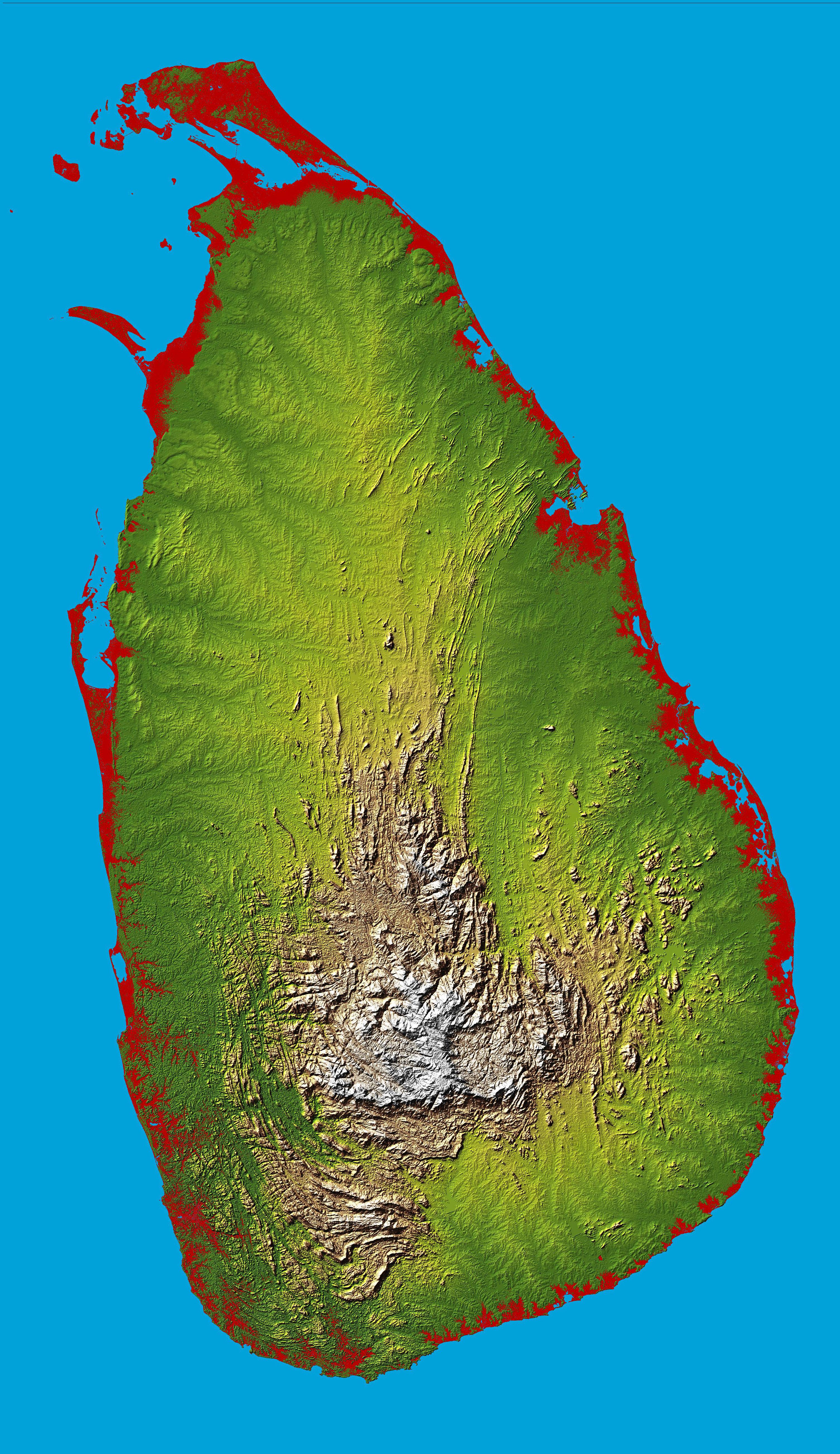 Maps of Sri Lanka | Detailed map of Sri Lanka in English | Tourist ...