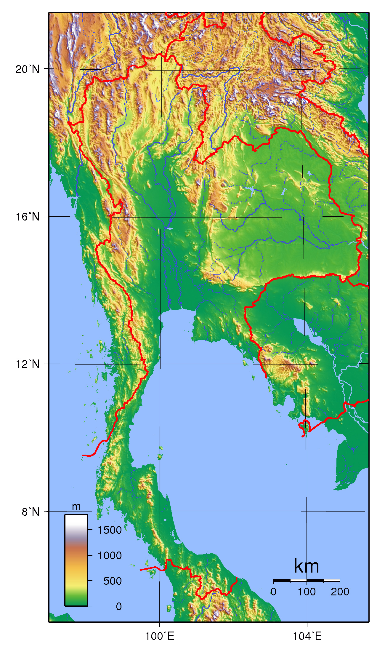Maps Of Thailand Detailed Map Of Thailand In English Tourist - Map of thailand