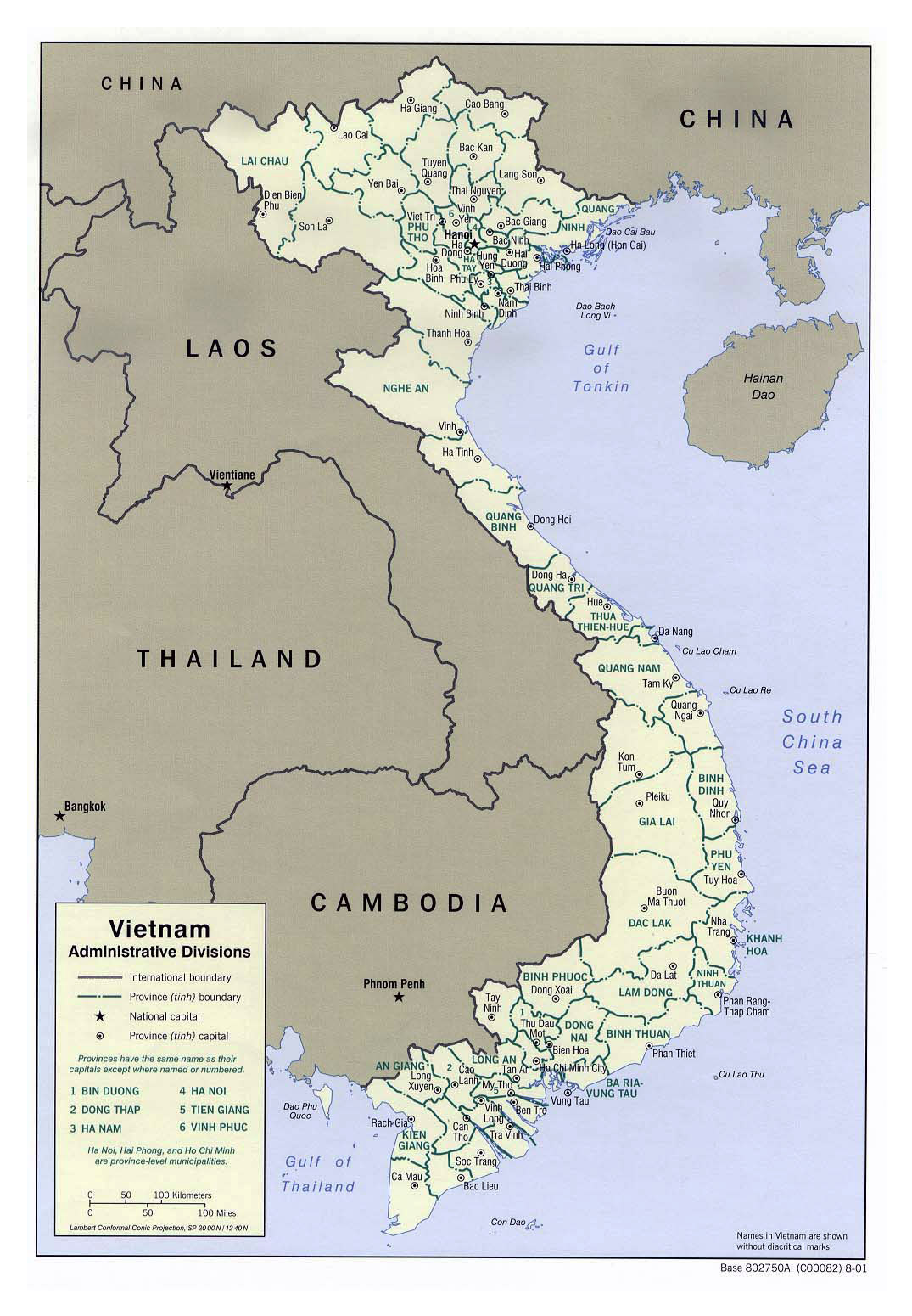 Maps of Vietnam Detailed map of Vietnam in English Tourist map