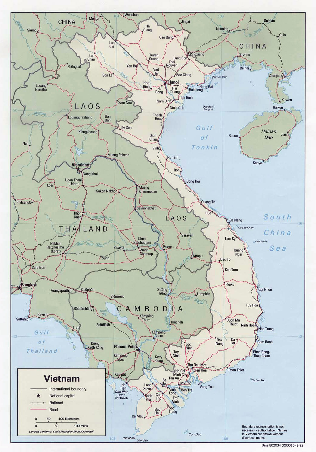 Maps of Vietnam | Detailed map of Vietnam in English | Tourist map ...
