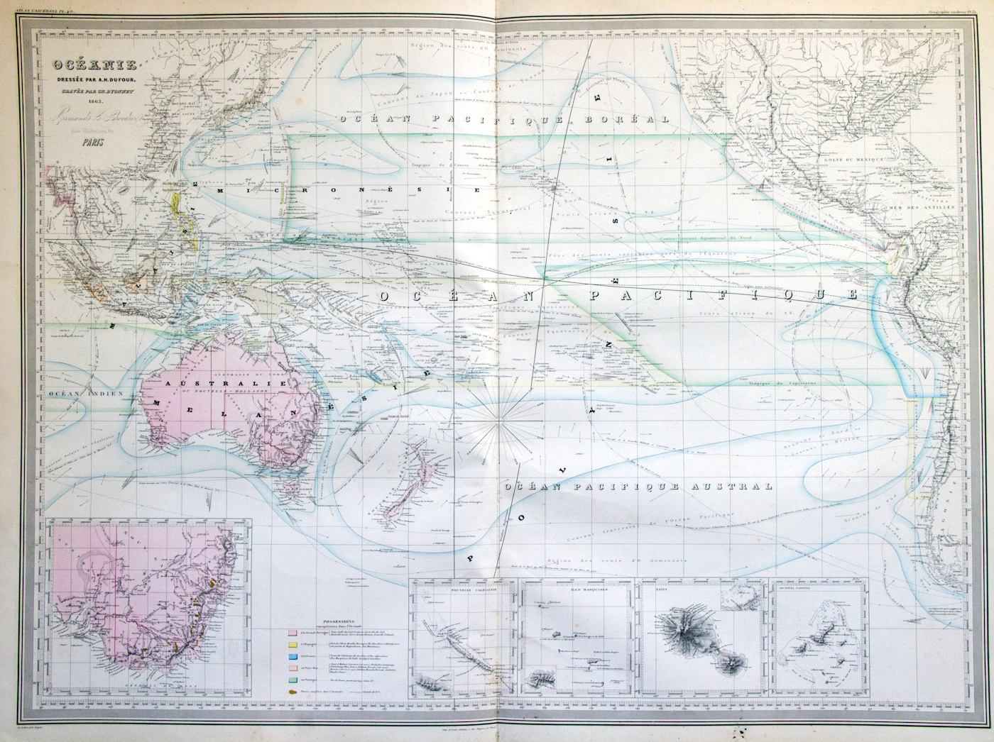 Maps of australia and oceania and oceanian countries political maps of australia and oceania gumiabroncs Gallery