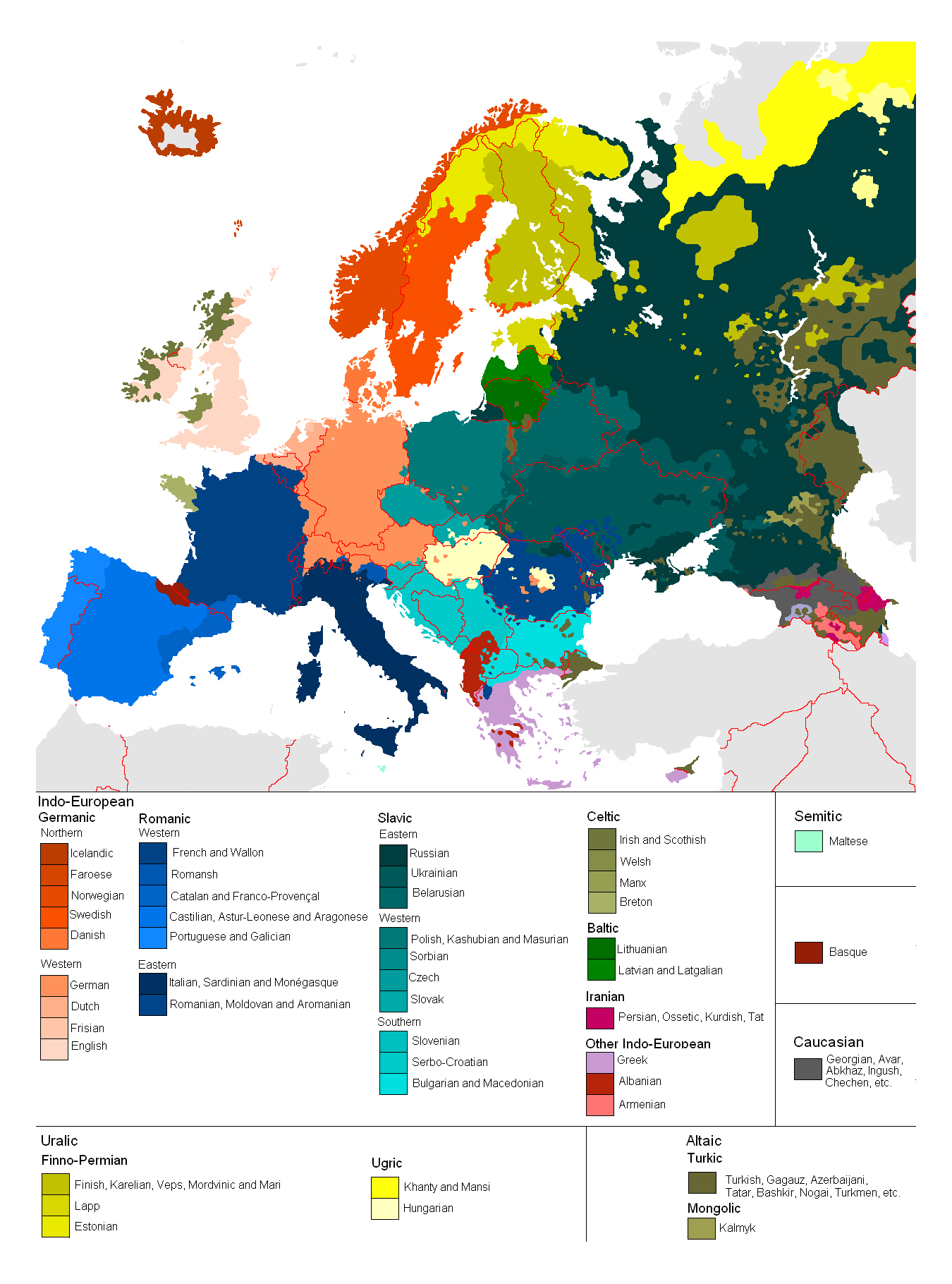 Maps of Europe and European countries – Detailed Travel Map Of Europe