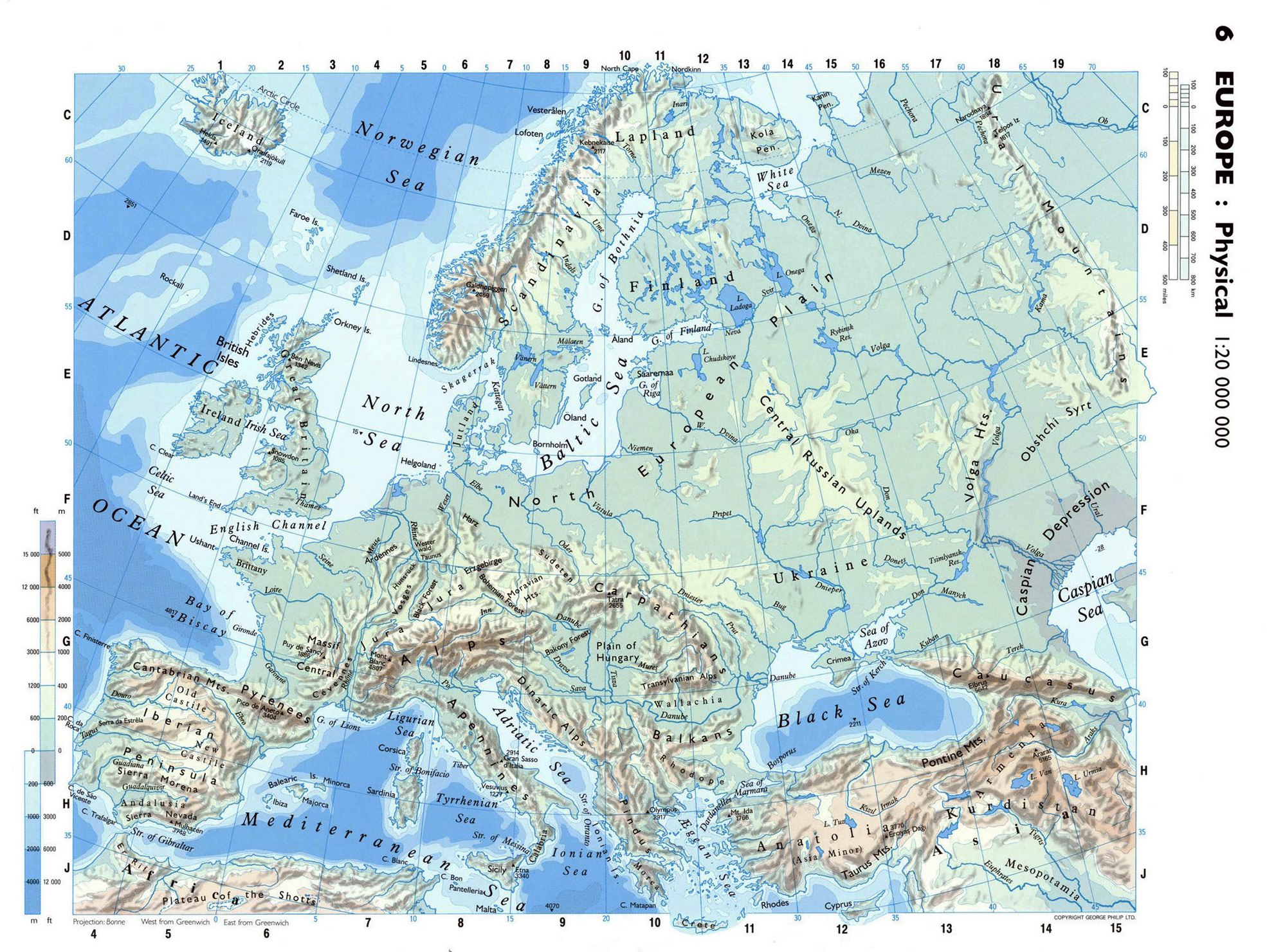 Maps Of Europe And European Countries Political Maps - Map of europe countries