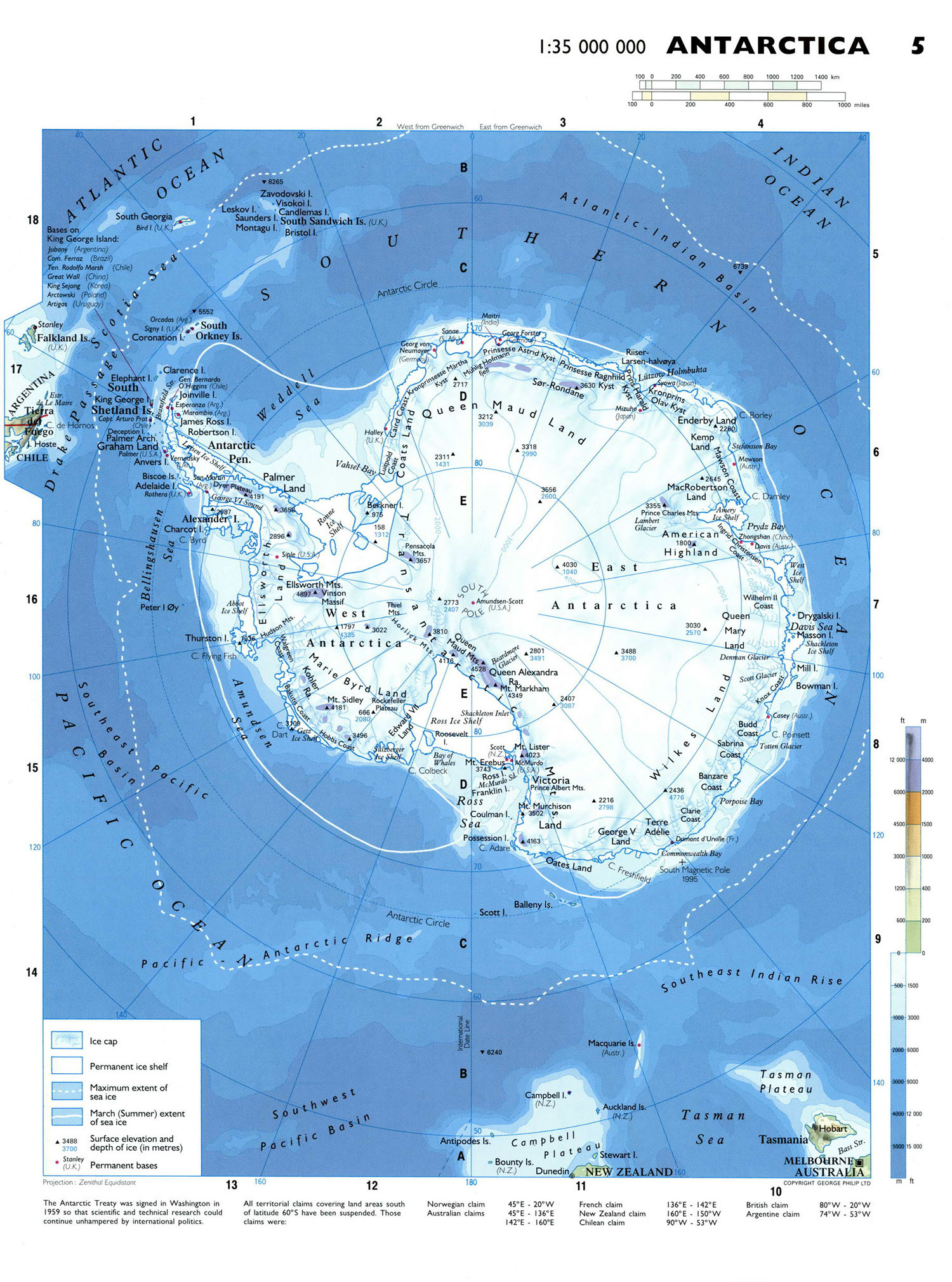 Maps Of The World World Maps Political Maps Geographical Maps - Antarctica maps