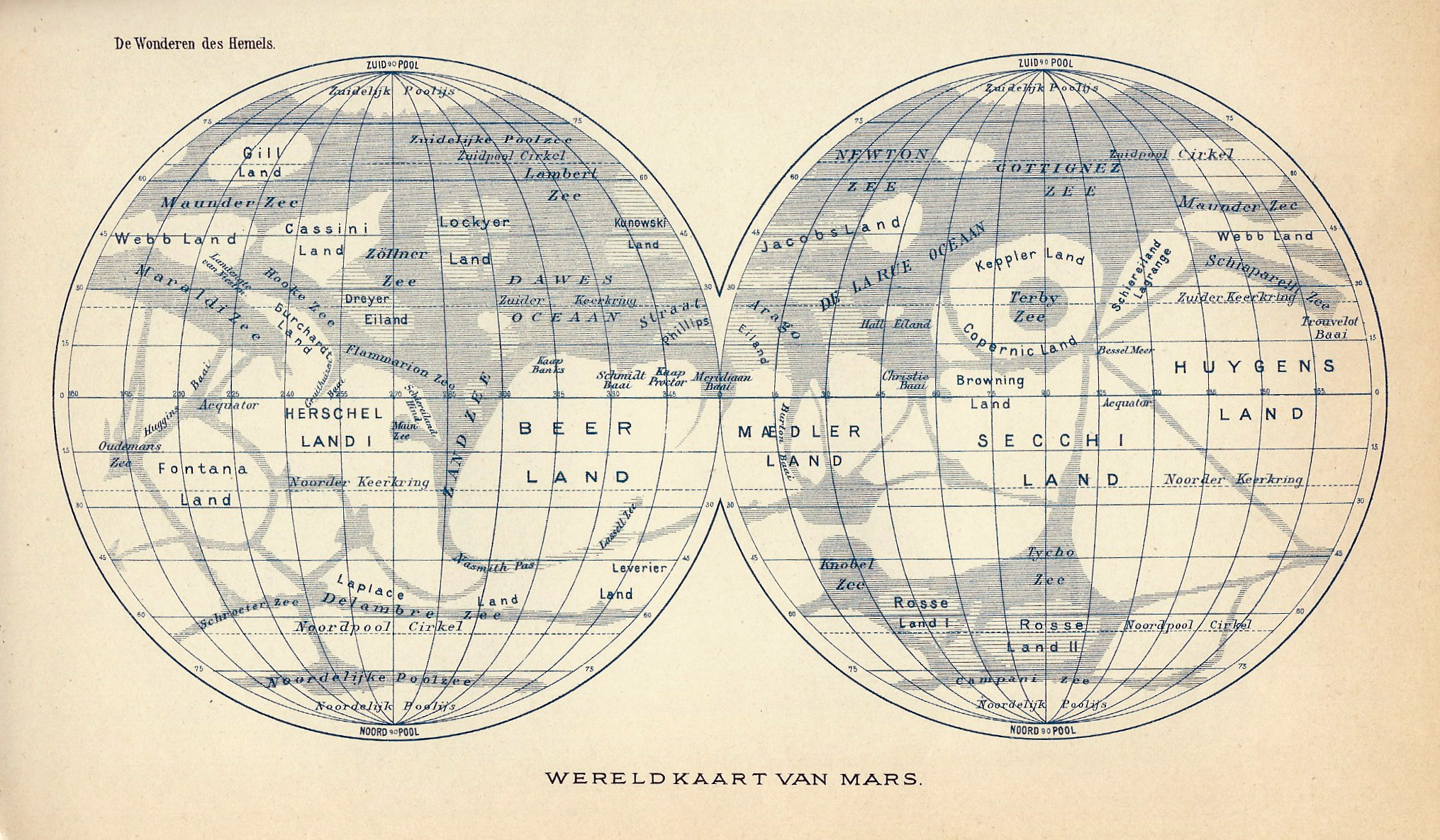 Maps of Mars | Map collection of Mars (Mars Maps) | Solar ...