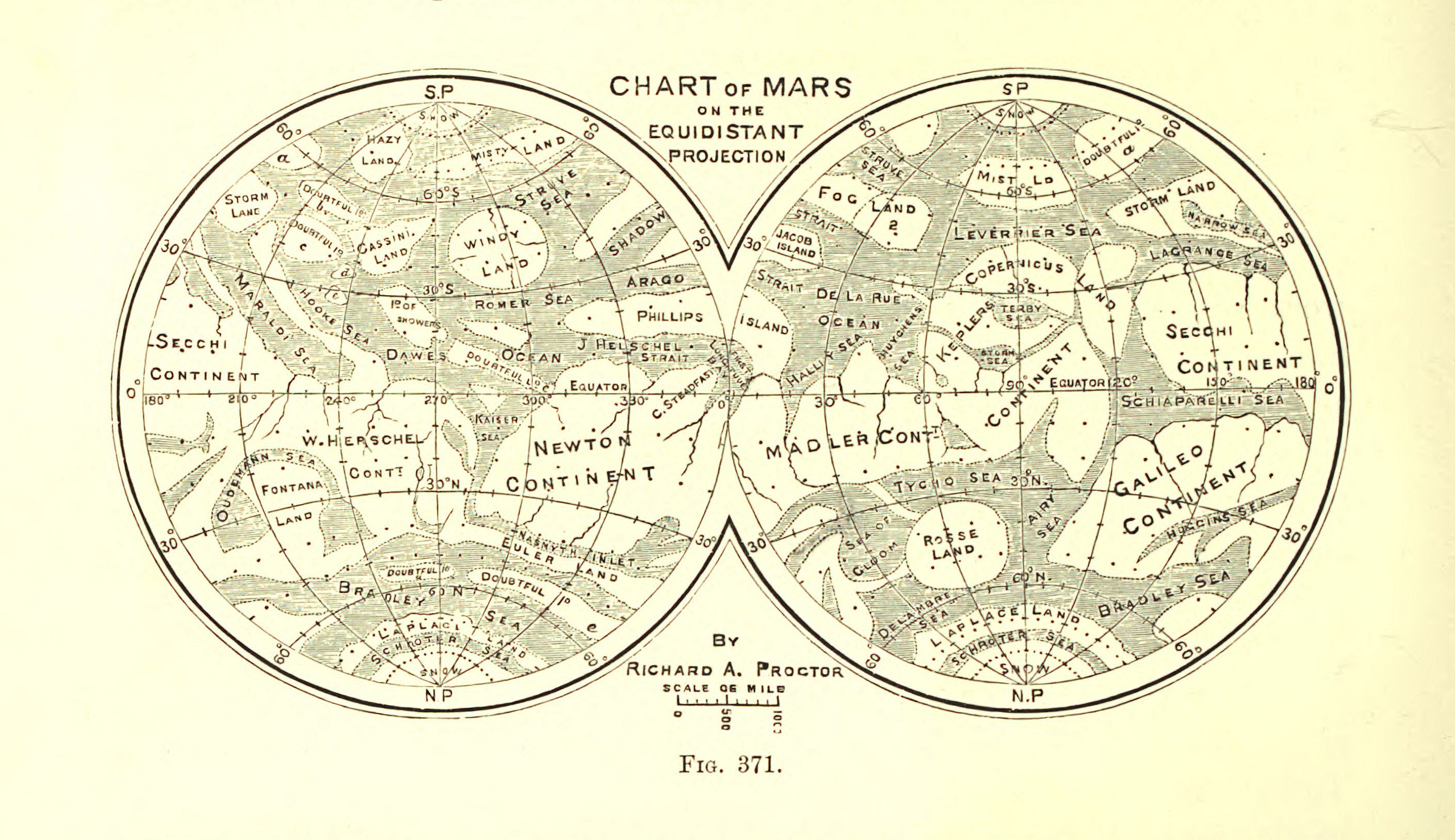 Maps of Mars Map collection of Mars Mars Maps Solar System Space Maps