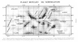 Detailed map of Mercury - 1978.